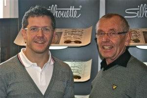 Jörn Millan mit Vater Helmuth.