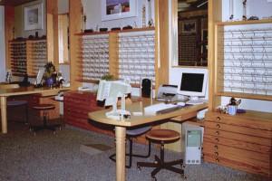 Optik Millan Beratungsplatz 1998